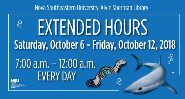 Library: Extended Hours