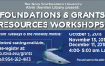 Foundation & Grants Resources Workshops (Dec. 11)