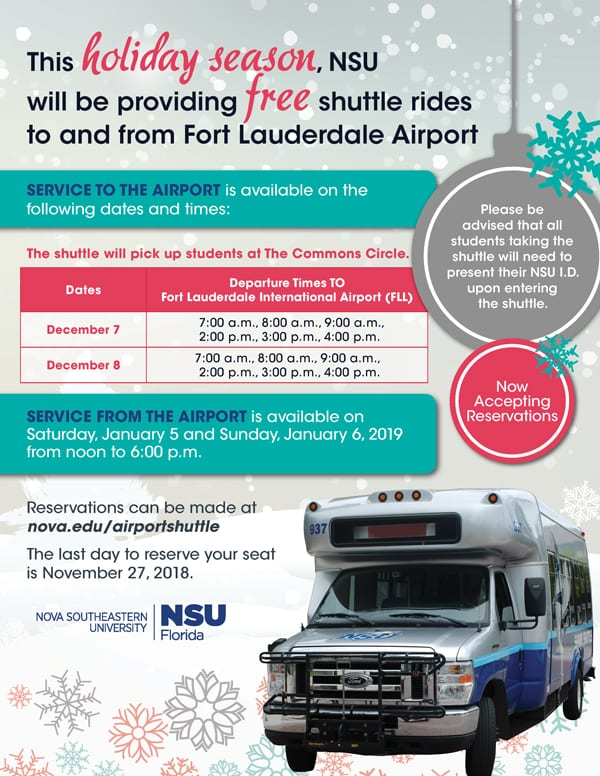 Airport Shuttle Services - Winter