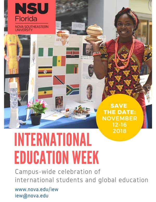 Save the Date: International Education Week