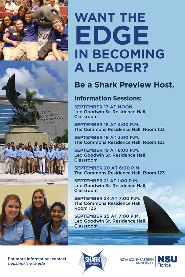Be a Shark Preview Host