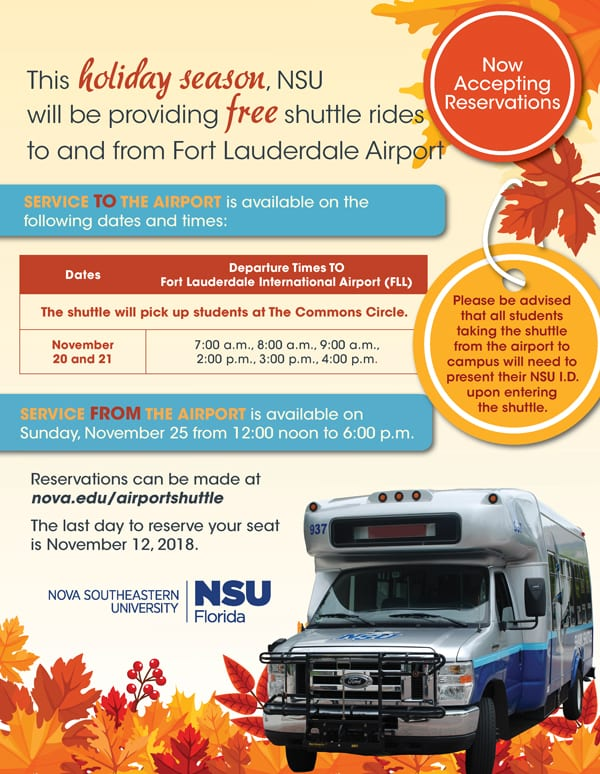 Airport Shuttle Services - November