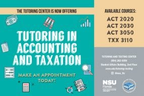 Accounting and Taxation Tutoring