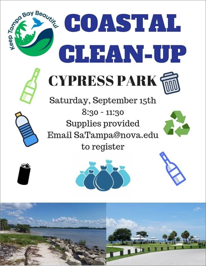 Tampa--Coastal Cleanup (Sept. 15)