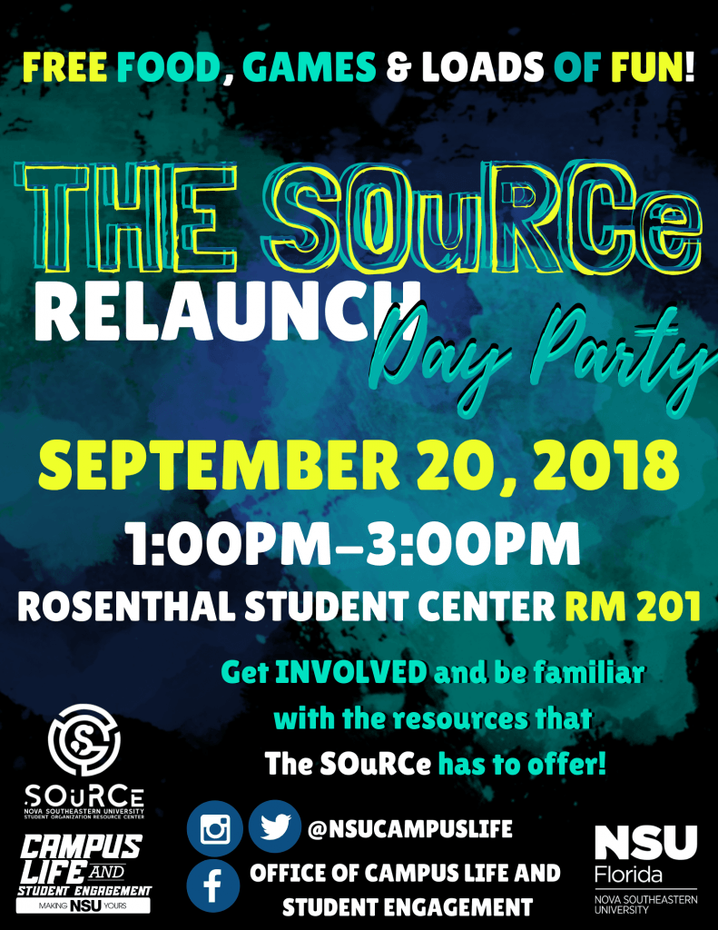 The SOuRCe Relaunch Day Party