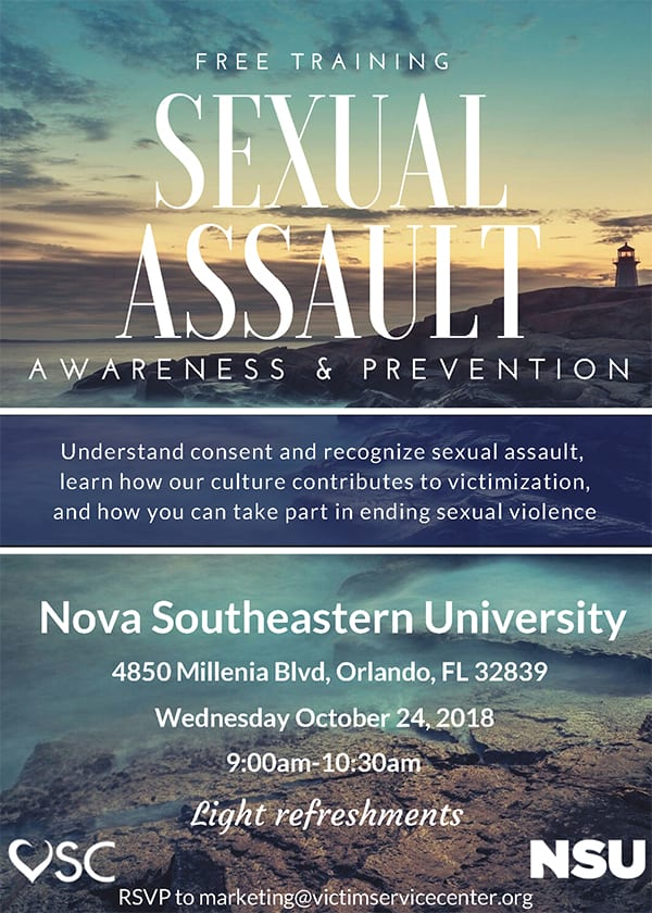 Orlando--Sexual Assault Awareness & Prevention Free Training
