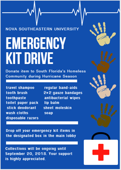 Miami--Emergency Kit Drive