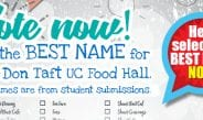 Vote for the BEST Name for our UC Food Hall