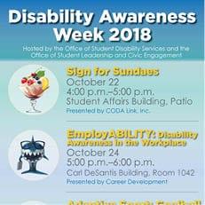 Disability Awareness Week 2018