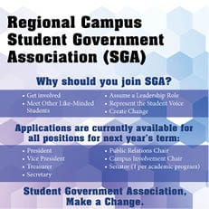 Regional Campuses–Join SGA