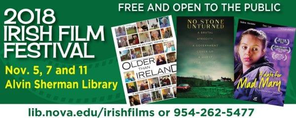 2018 Irish Film Festival