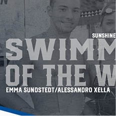 Sundstedt, Xella Sweep SSC Swimmer of the Week Awards