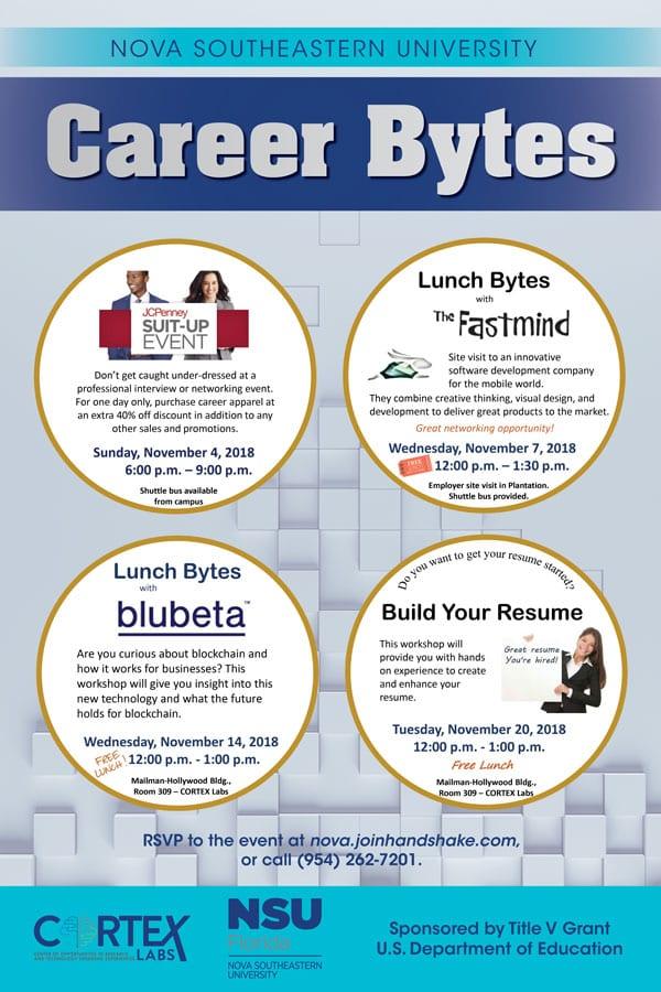 Career Bytes November 2018