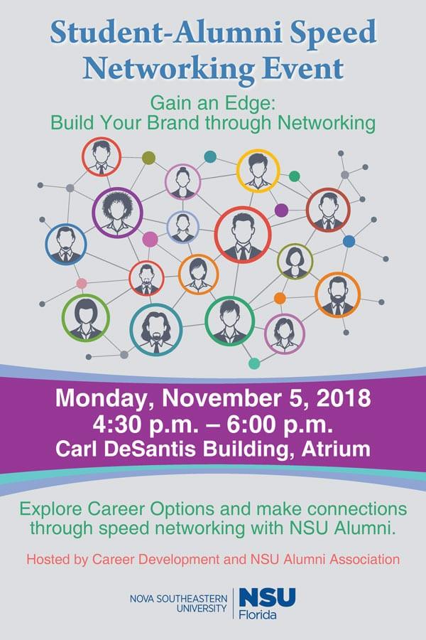 Student-Alumni Speed Networking Event