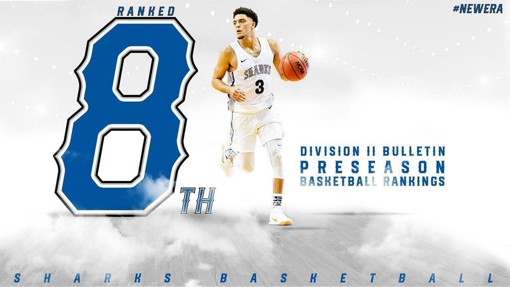 Men's Basketball Ranked No. 8 Preseason by DII Bulletin