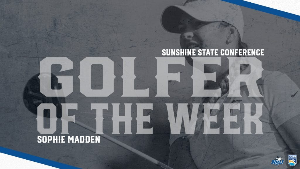 Madden Reels in Second Straight SSC Weekly Award