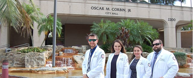 NSU Fort Myers PA Students Announces and Represents National Physician Assistant Week