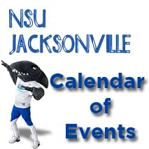 NSU Jacksonville Calendar of Events