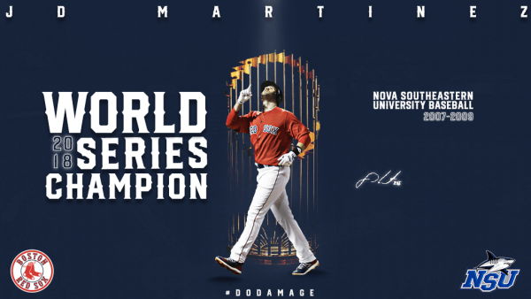 Martinez Caps Magical Season with World Series Title