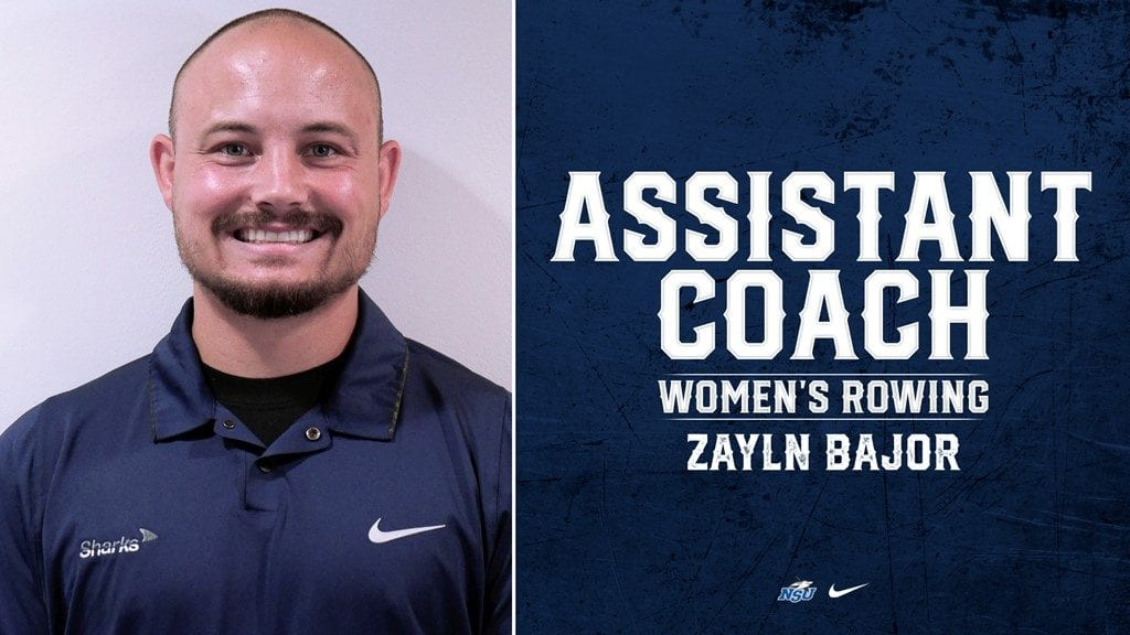 Bajor Announced as New NSU Rowing Assistant Coach