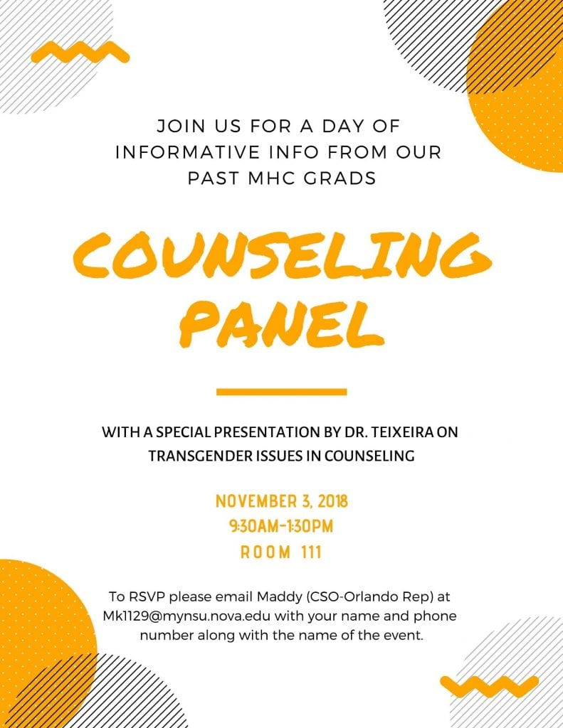 Counseling Panel