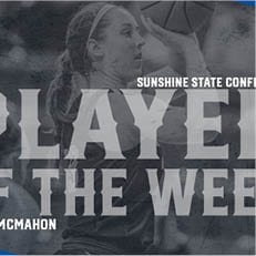 McMahon Earns SSC Defensive Player of the Week Laurels