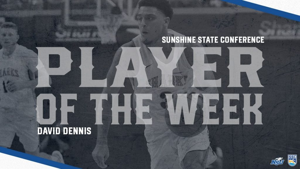 Dennis Brings Home SSC Player of the Week Award