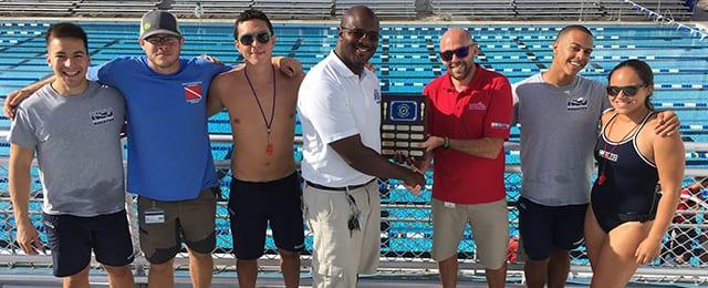 NSU Aquatics Brings Home the Gold
