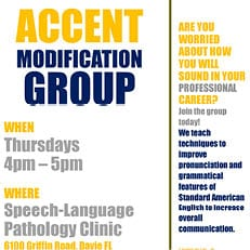 Accent Modification Group