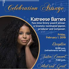 Celebration ArtSage Presents Two-Time Emmy Winner Katreese Barnes