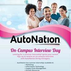 AutoNation On-Campus Interview Day
