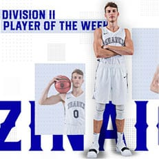 Zinaich Repeats as USBWA National Player of the Week