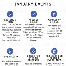 Fort Myers--Calendar of Events January 2019