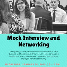 Mock Interview and Networking