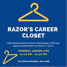 Razor's Career Closet