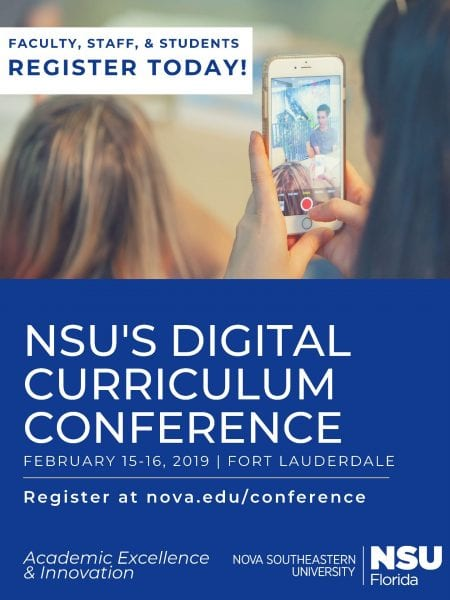 NSU's Digital Curriculum Conference