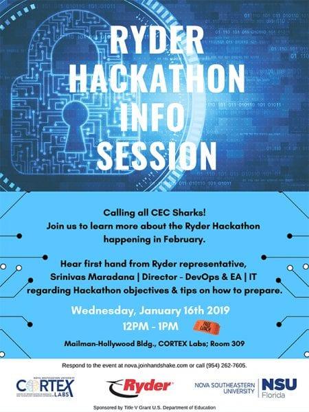 Ryder Hackathon Info Session