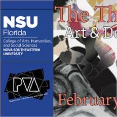 CAHSS DPVA Art and Design Seniors Curate and Exhibit Original Works on Feb. 20th
