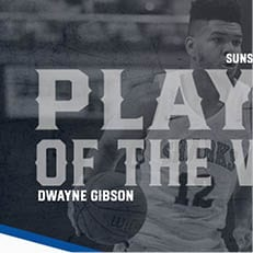 Gibson Hauls in Second Straight SSC Defensive Player of the Week Award
