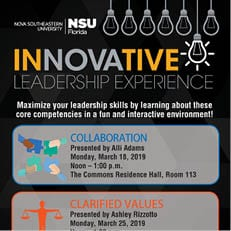 Innovative Leadership Experience March 2019