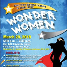 Wonder Women Panel 2019