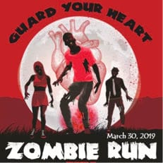 Guard Your Heart Zombie Run