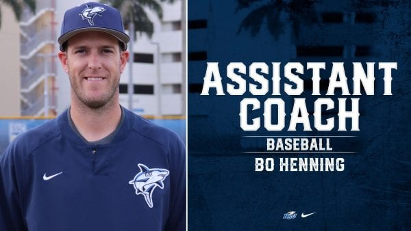 Bo Henning Named New NSU Pitching Coach