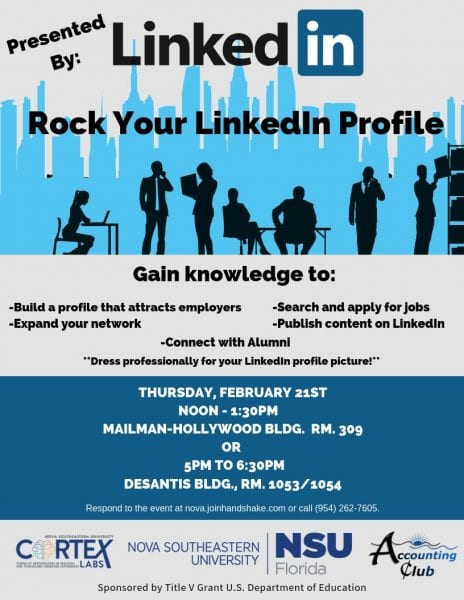 Rock Your LinkedIn Profile - Feb. 21