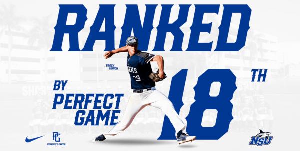 Perfect Game Picks Sharks at No. 18 Preseason; Three Named Top Prospects
