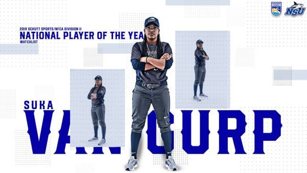 Van Gurp Named To 2019 Schutt Sports/NFCA Div. II National Player of the Year Watch List