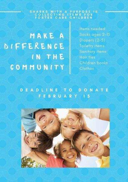 Foster Care Donation Box