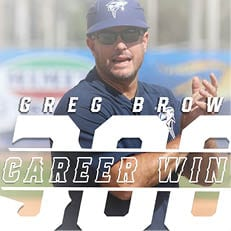 Brown Notches 300th Win as Sharks Double-Up St. Thomas in Midweek Action