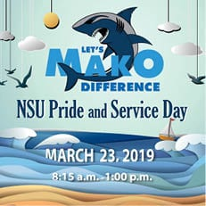 NSU Pride and Service Day - Mar. 23