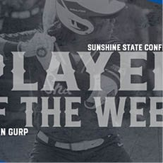 Van Gurp Earns Second SSC Player of the Week Honor